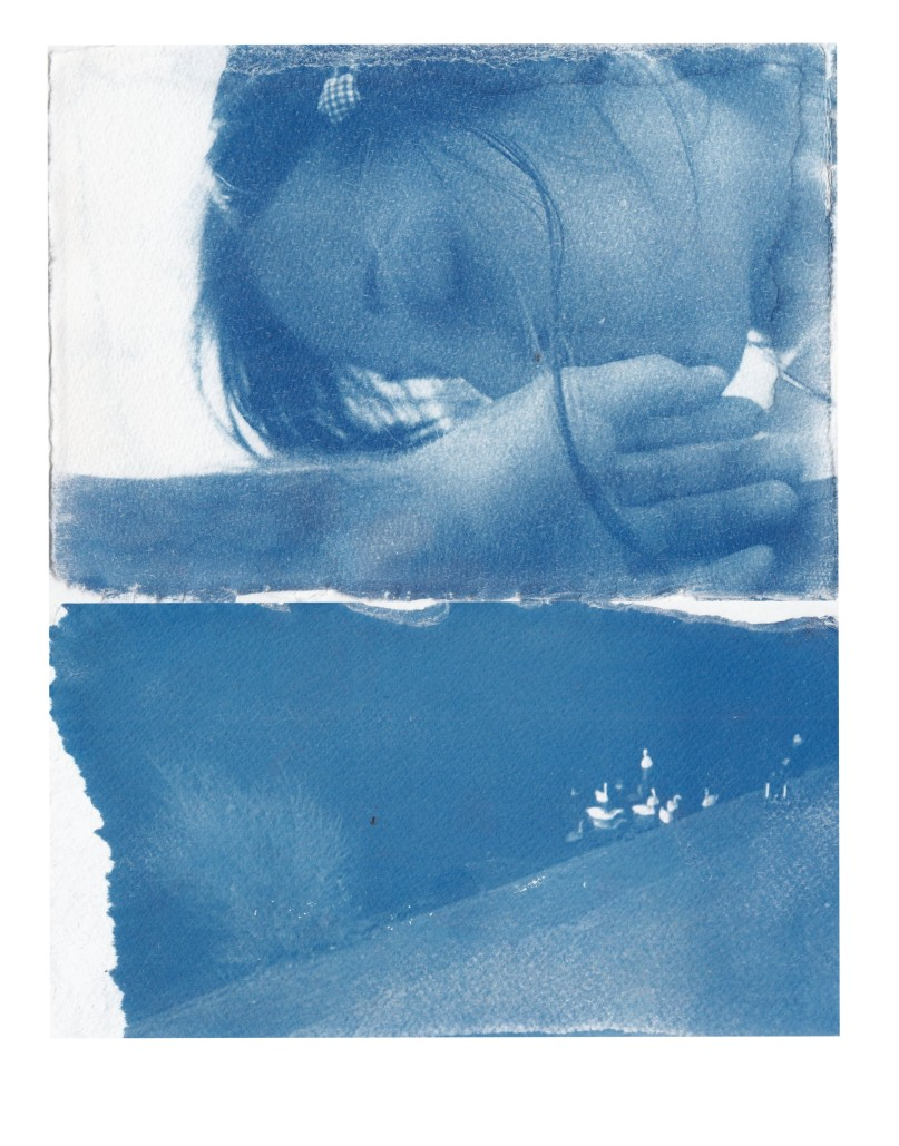 blue dyptych ii